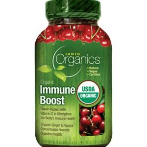 Organic Immune Boost - 60 Tablets by Irwin Organics